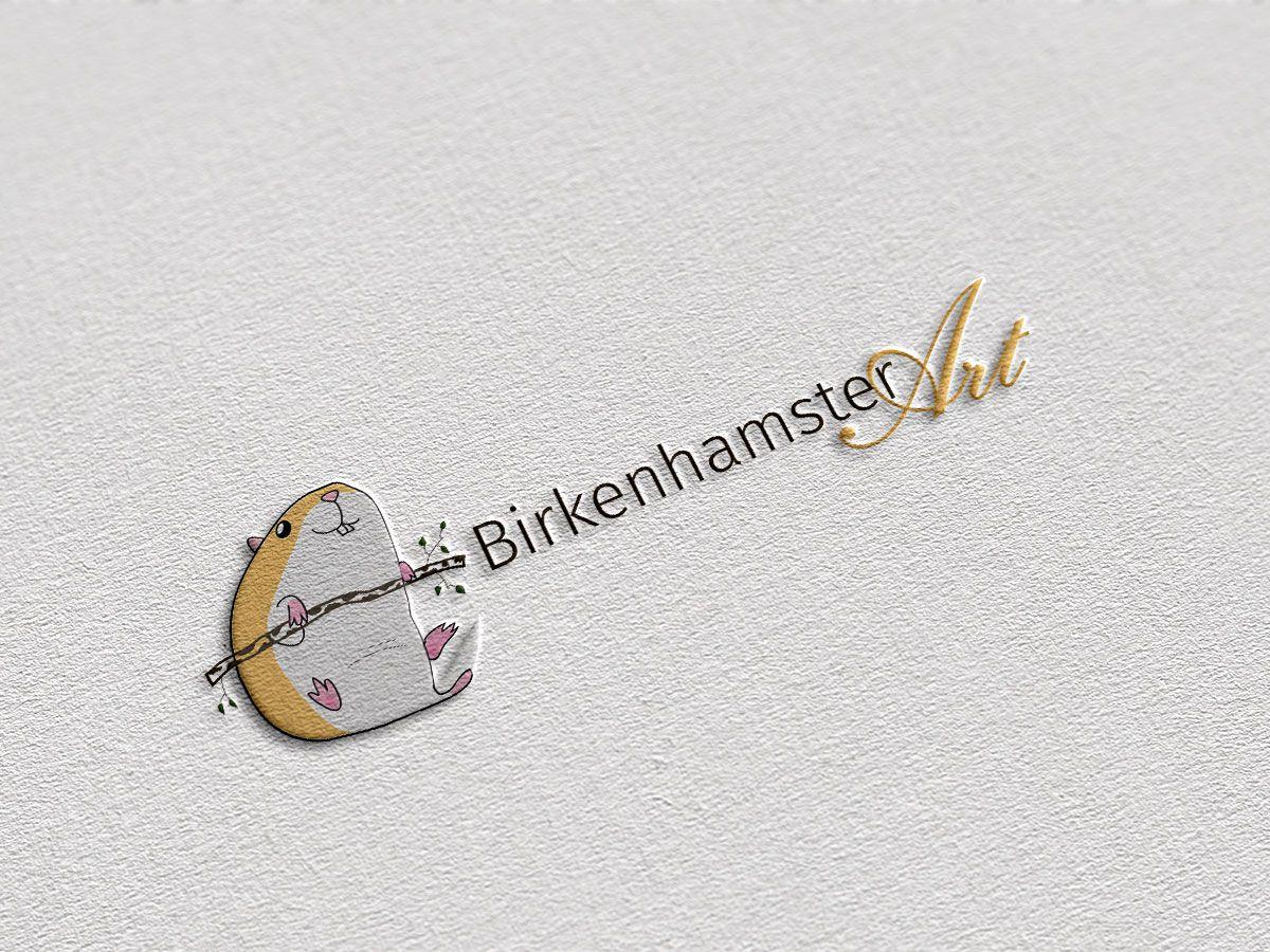 Logodesign für BirkenhamsterArt aus Schwerin