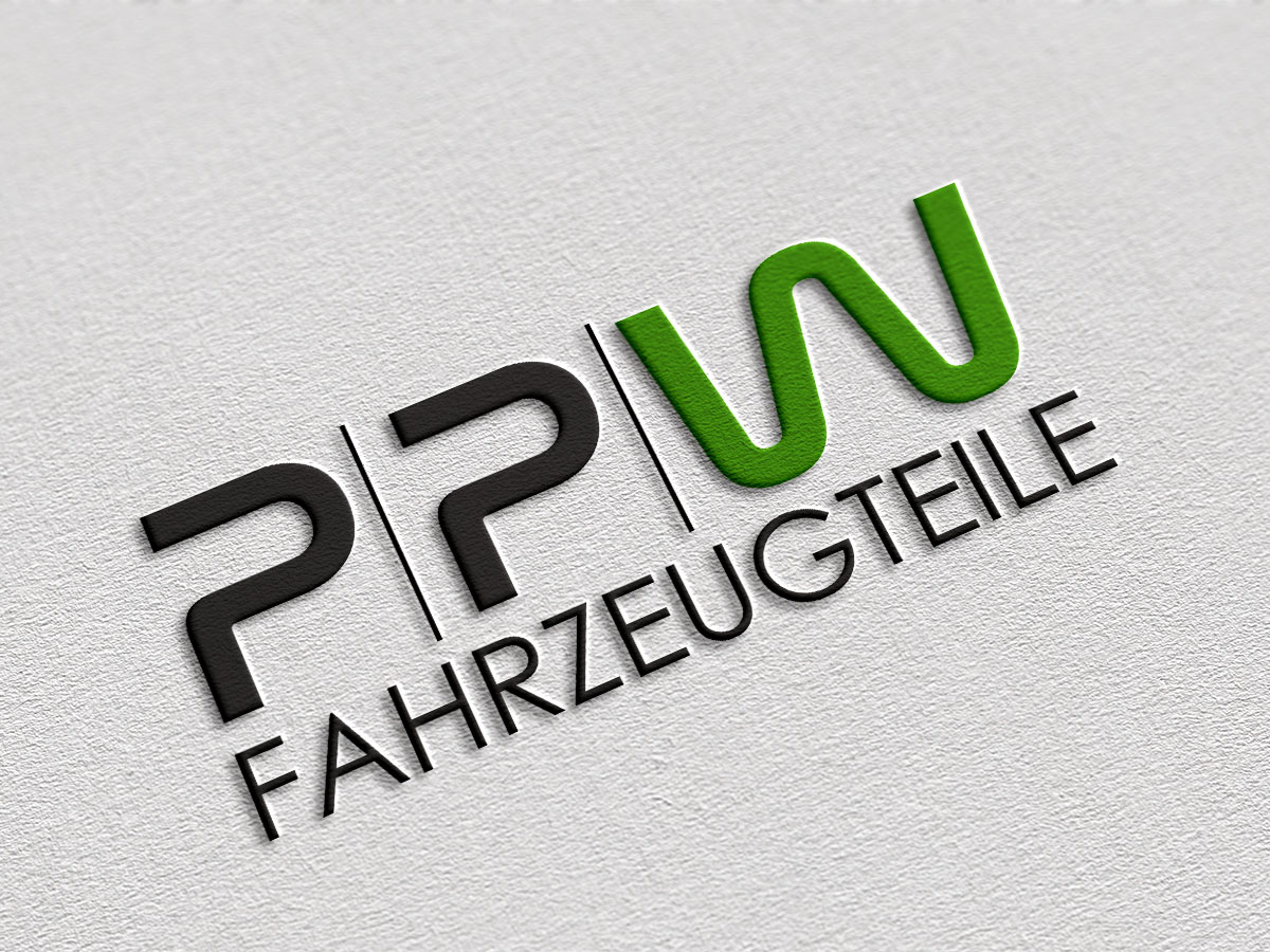 Logodesign für PPW Fahrzeugteile aus Osnabrück