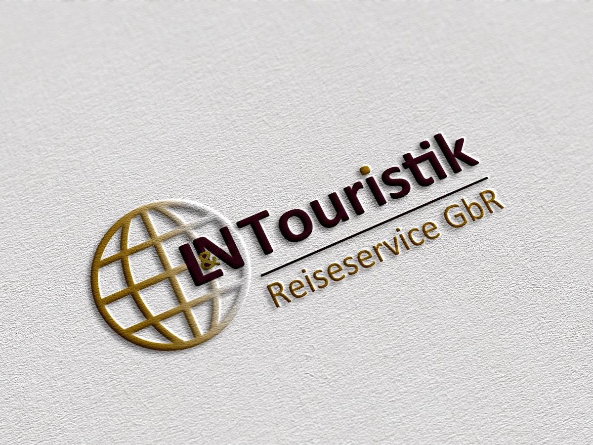 Logodesign für das Reisebüro L&N Touristik aus Belm